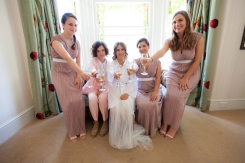 Natalie's wedding - bridesmaids makeup. Photography courtesy of James North