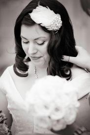 Vintage bride Leonie