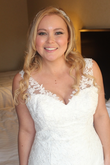 Zoe Martin's wedding